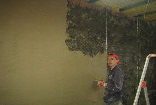 Проведение внутренних работ на стенах