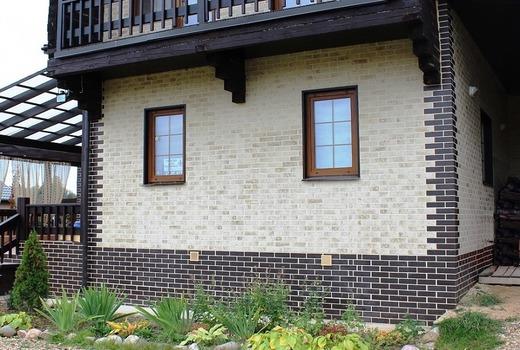 Клинкерная плитка на фасаде
