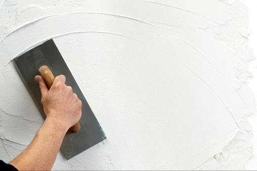 Процесс отделки стен