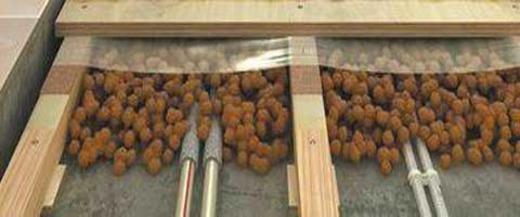 Сравнение десяти сантиметров керамзита с другими утеплителями