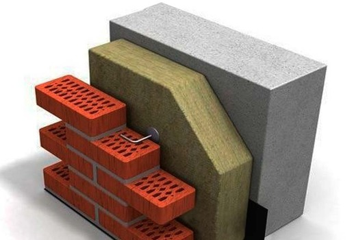 Конструкция утепления стены
