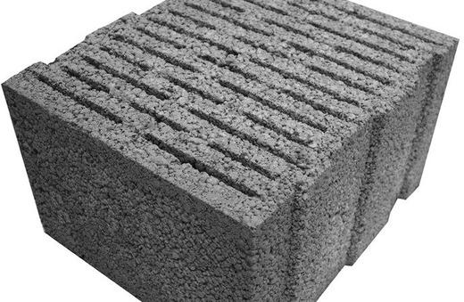 Многощельевой керамзитбетонный блок