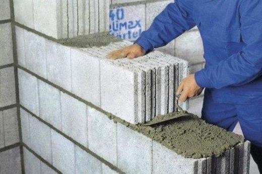 Укладка качественных блоков