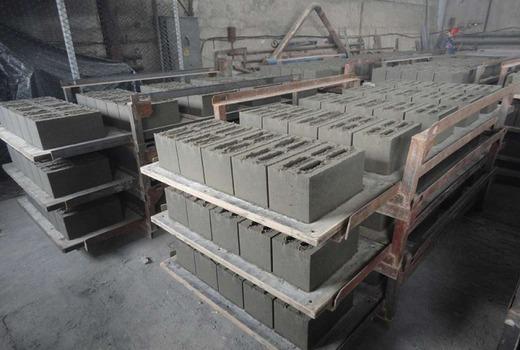 Блоки при изготовлении
