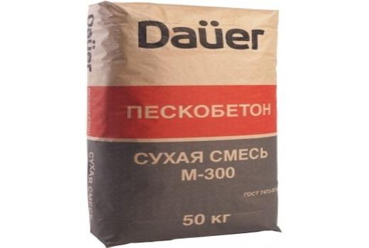 Отзыв специалистов об пескобетоне DAUER