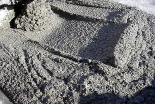 Свойства смеси пескобетона