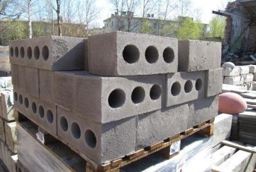 Блоки с отверстиями