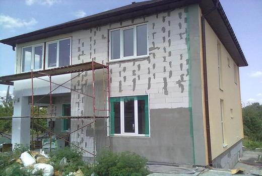 Штукатурка стен из газоблоков