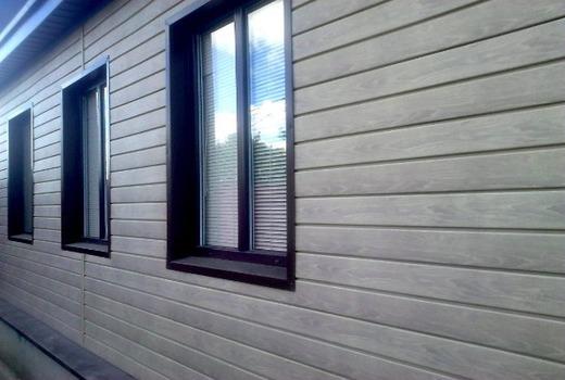 Сайдинговое покрытие внешних стен