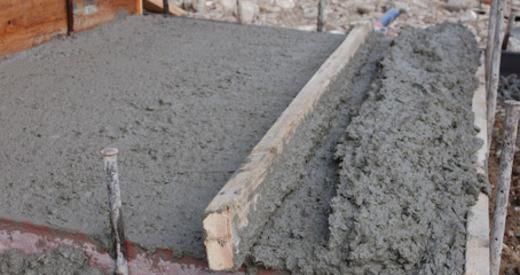 Состав готового бетона