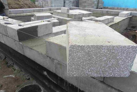 Расчеты теплопроводности блока во время стройки