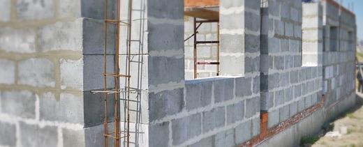 Оштукатуривание стен из полистиролбетонных блоков