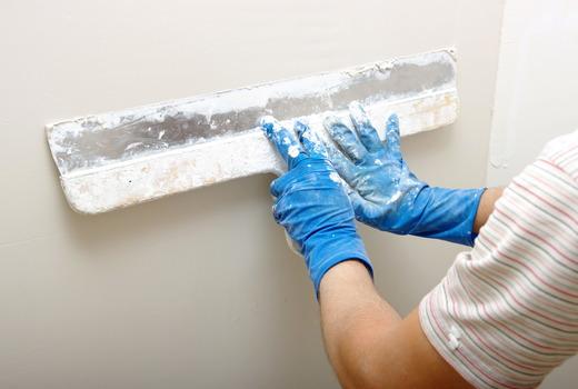 Нанесение слоя на внутреннюю стену