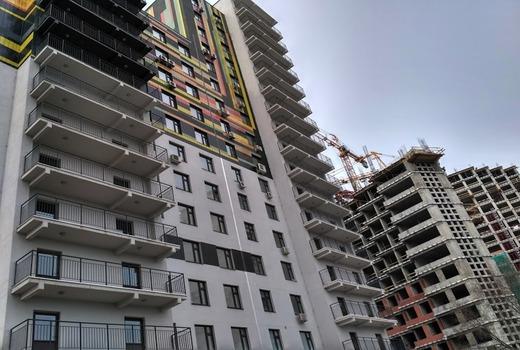 Дома в 14 и больше этажей