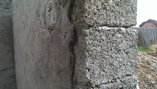 Штукатурка стен из арболита