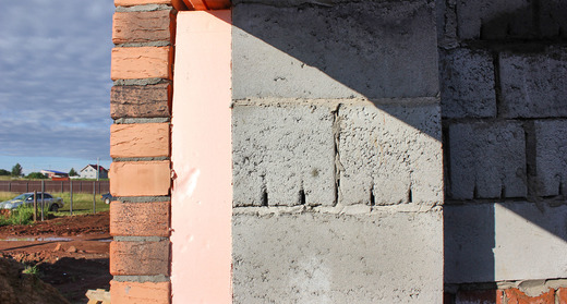 Утепление стены из керамзитобетона