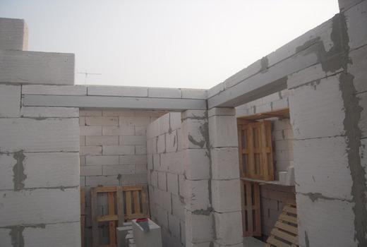 Внутренние стены дома