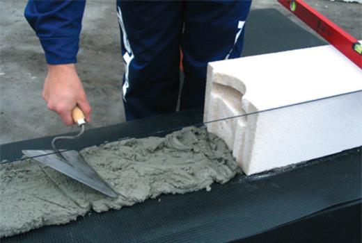 Кладочный раствор под блоки из газосиликата