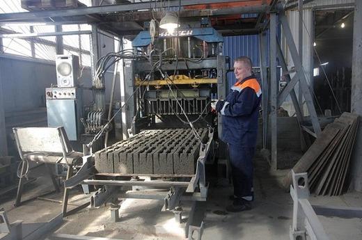 Линия по производству керамзитобетонных блоков