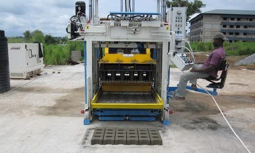Оборудования для производства бетонных блоков