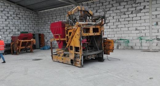 Оборудование для производства бетонных блоков KNAUER 129.A.U.EC.VORS