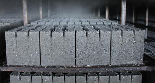 Сушка керамзитобетонных блоков