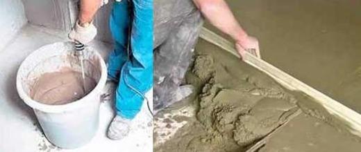 Чем пескобетон отличается от цементного раствора пгс в бетоне