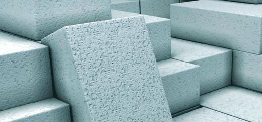Прямоугольные газобетонные блоки