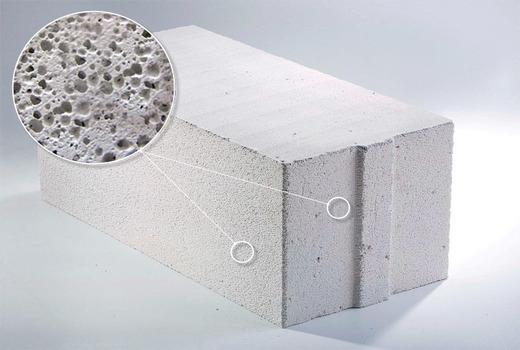 Структура газобетона