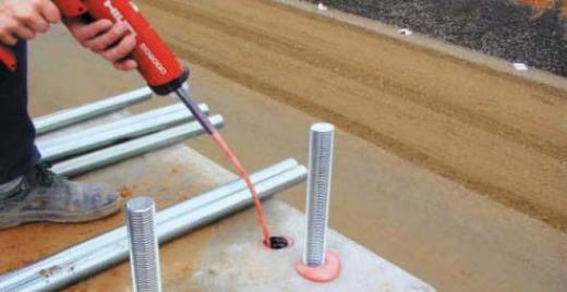 Химические анкера Hilti для бетона