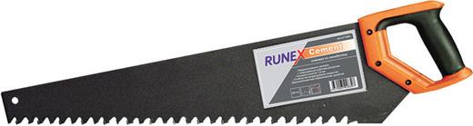 "Ножовка по пенобетону 600мм твердосплав.зубья ""Runex cement"""