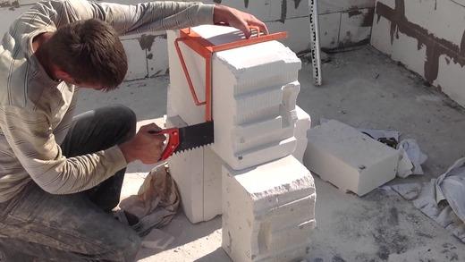 Разрезаем блок
