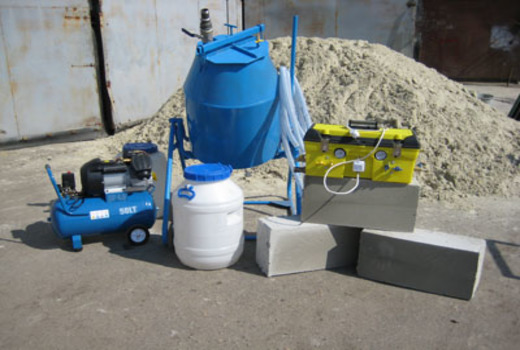 Оборудование для производства в домашних условиях