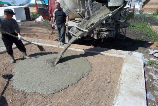 Ингредиенты для состава бетонной смеси