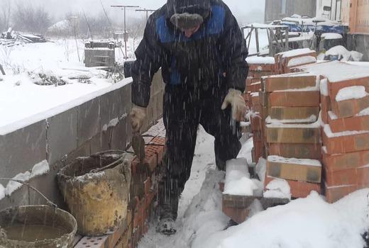 Инструменты для строительства зимой