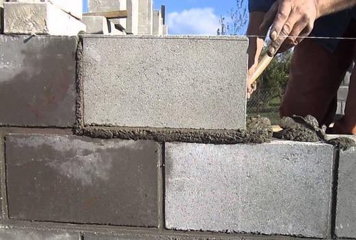 Подготовительные работы для кладки стен