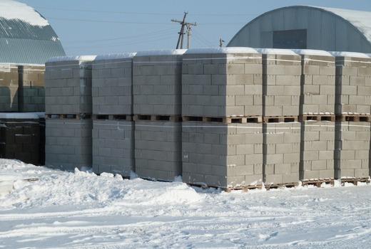 Специфика постройки из газобетона зимой