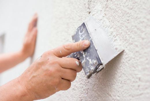 Шпаклевочные работы на стенах