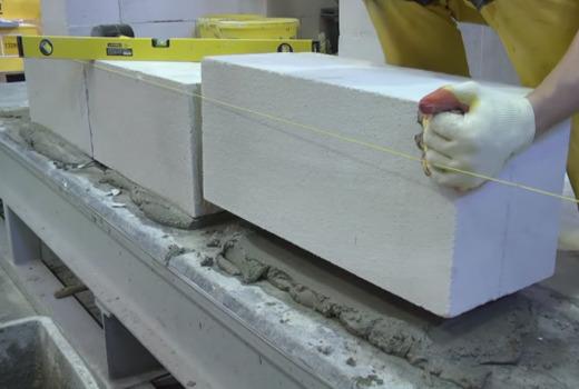 Заводское производство блоков из газобетона