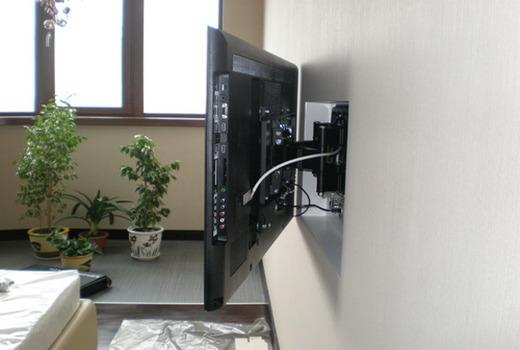 Высота крепления телевизора