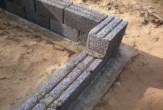 Раствор цементный для кладки блока прессованный бетон фото