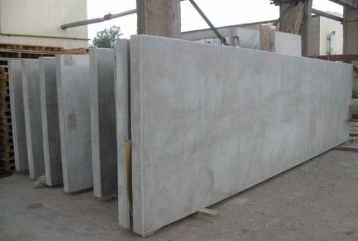 Горизонтальные бетонные панели