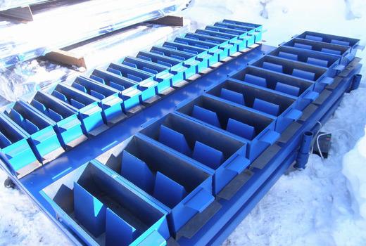 Оборудование для изготовления газобетона