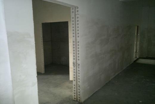 Стеновая перегородка ячеистой структуры