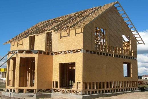 Строительство каркасных конструкций