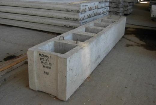Пустотные элементы бетонных сооружений