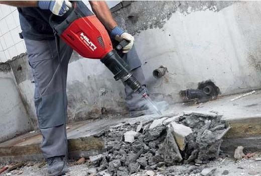 продолбить бетон