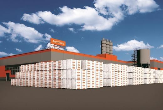 Завод по производству блоков