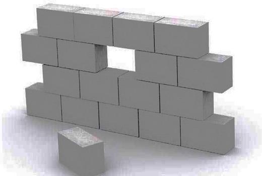 Пеноблоки в кубе