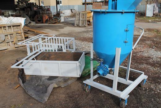 установка для газобетона